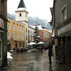 Winding up the narrow, cobblestone alleys in Passau, headed for the Christmas markets.