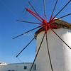 Windmill on Mykonos, Greek Isles