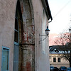 Soft muted colors at dusk in Krems.