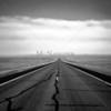 Endless Road in Wyoming