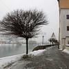 View along the Danube River in Passau.